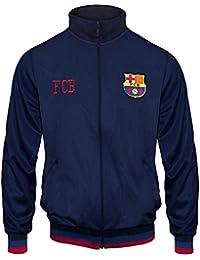 FC Barcelona - Chaqueta de entrenamiento oficial - Para niño - Estilo retro - 12-13 años