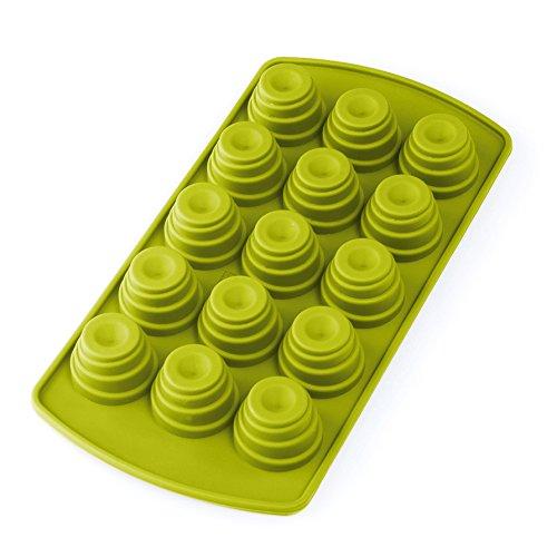 baekka Pralinenform Eiswürfelform Hut 15er Form, hellgrün