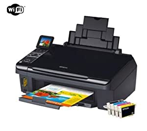 epson stylus sx400 imprimante multifonctions jet d 39 encre couleur wifi informatique. Black Bedroom Furniture Sets. Home Design Ideas
