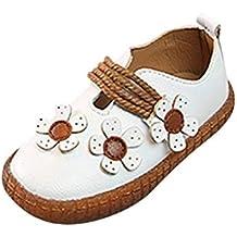 0421aba3208 Berimaterry Zapatos para Bebes Niña Elegantes Suela Blanda Zapatos de  Princesa 2019 Verano Fiesta Bautizo Sandalias