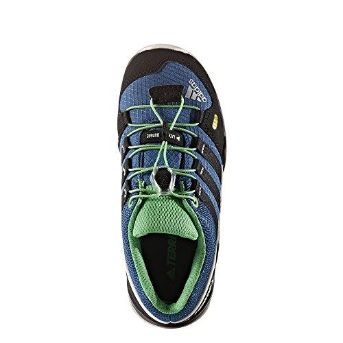 adidas Unisex-Kinder Terrex K Wanderstiefel Blau (Azubas/negbas/blatiz)