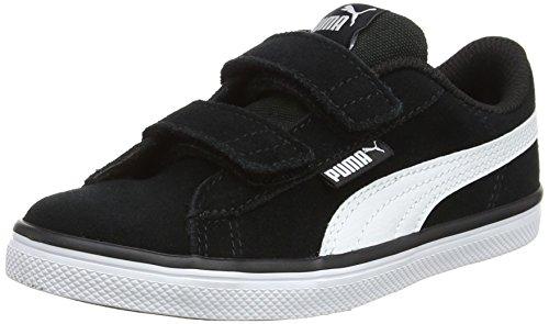 PS, Unisex-Kinder Sneakers, Schwarz (Puma Black-Puma White), 32 EU ()