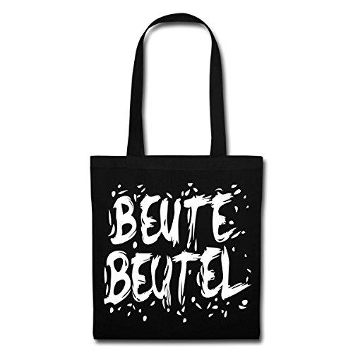 Spreadshirt Beutebeutel Süßes Oder Saures Halloween Stoffbeutel, Schwarz