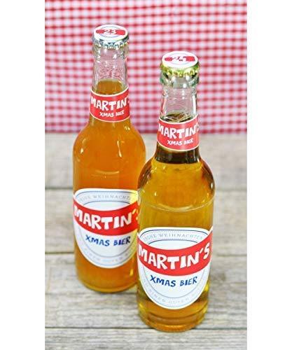 personalisiertes Aufkleberset 1-24 als Flaschen-Adventskalender