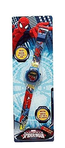 montre enfant digitale spiderman marvel comics civil war