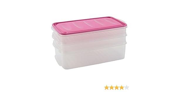 Kühlschrank Dose Aufschnitt : Aufschnittdosen set vorratsbox frischhaltebox stapel box dose