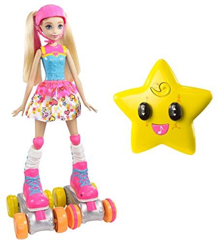 Barbie Mattel FDN00 Videospiel-Heldin R/C Rollschuhläufer