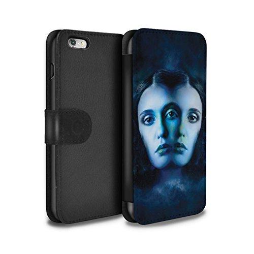 STUFF4 PU-Leder Hülle/Case/Tasche/Cover für Apple iPhone 5/5S / Skorpion Muster / Tierkreis Star Schild Kollektion Zwillinge