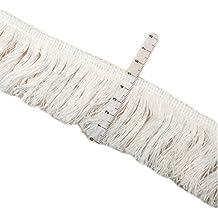 Yalulu 5 metros x 5 cm de ancho, hilo de borla de algodón para costura