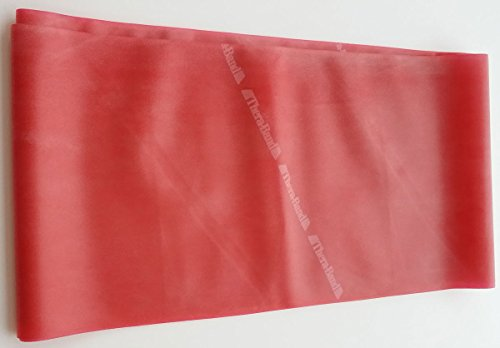 Thera-Band, 1,50 m x 12,8 cm, mittel, rot, Widerstandsband, Fitnessband