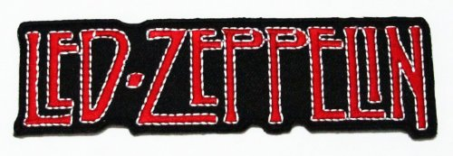 Wandtattoo Led Zeppelin (Led Zeppelin Rock Music Band Logo Iron on Patch Great Gifr for Men and Women)
