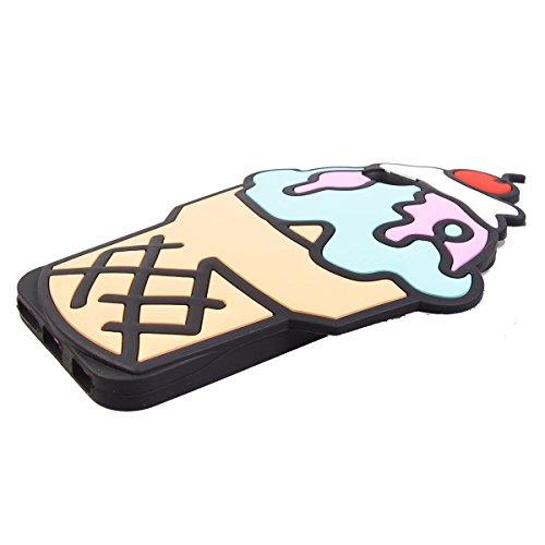 "COOLKE Mode 3D Style Cartoon Gel Soft silicone Coque Housse étui Case Cover Pour Apple iPhone 6 6s (4.7"") - 020 017"