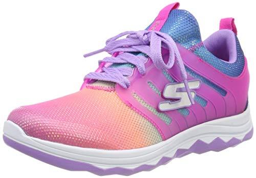 Skechers Mädchen Diamond Runner Sneaker, Mehrfarbig (Pink Multi Npmt), 34 EU -