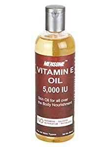 MENSOME Vitamin E Oil 5000 IU For Stretch Mark,Scars,Cuts,Dry Skin And Hair (200 ml)