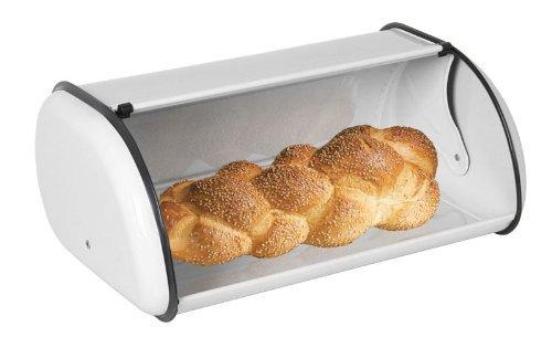 Home Basics Bread Box, White by Home Basics White Bread Box