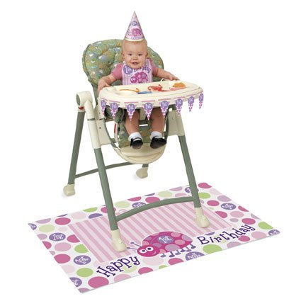 Ladybug 1St Birthday High Chair Kit
