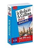 Dictionnaire Le Robert & Collins Maxi Anglais - Nouvelle Édition