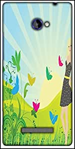 Snoogg Abstract Illustration Designer Protective Back Case Cover For HTC Windows Phone 8S