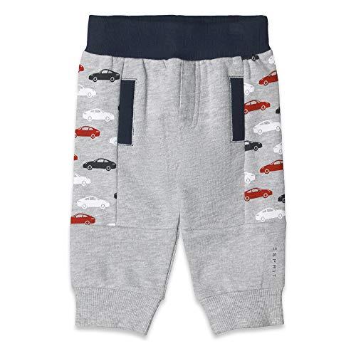 ESPRIT KIDS Baby-Jungen Knit Pants Jogginghose, Silber (Heather Silver 223), Herstellergröße: 62 Kind Knit Pant