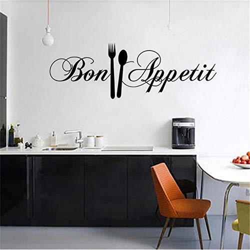 el Küche Wandaufkleber Dekoration Zubehör Wandtattoos Aufkleber Muraux Dekor An Der Wand Papel De Parede58X18Cm ()