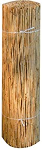 Sichtschutz 150 x 600 cm lang aus Schilfrohr Wind-schutz Schilfmatte Schilfrohrmatte von EXCOLO bei Gartenmöbel von Du und Dein Garten