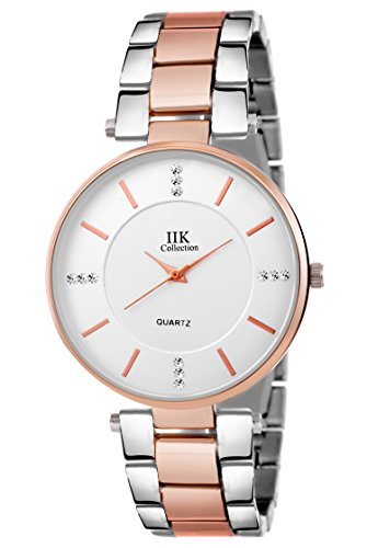 4b6f2572f Buy IIK Collection Watches Analogue Silver Big Size Dial Girl s   Women s  Analogue Watch - IIK-1033W on Amazon