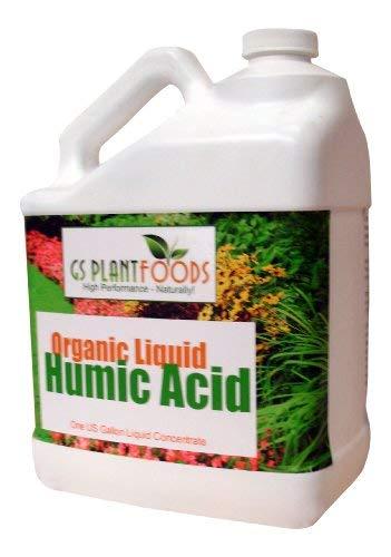 GS Plant Foods Ácido húmico líquido orgánico 1 galón concentrado