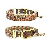 Paracord Halsband, Art: Arrow, Hundehalsband, wahlweise mit Gravur, Namen oder Motivperlen