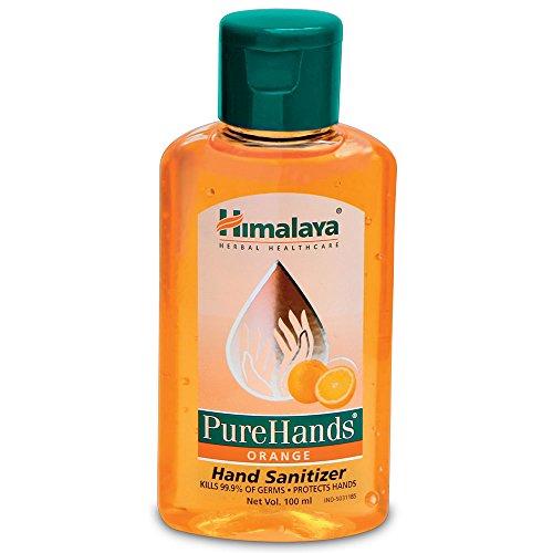 Himalaya Herbals Pure Hands Hand Sanitizer - 100 ml (Orange)