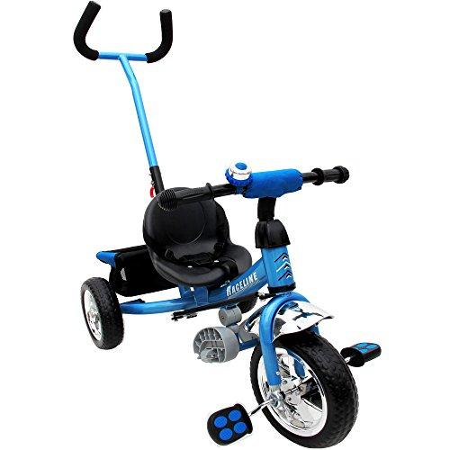 Trike Children 3 Wheel Kids Blue Tricycle Boys and Girls 3-Wheeler