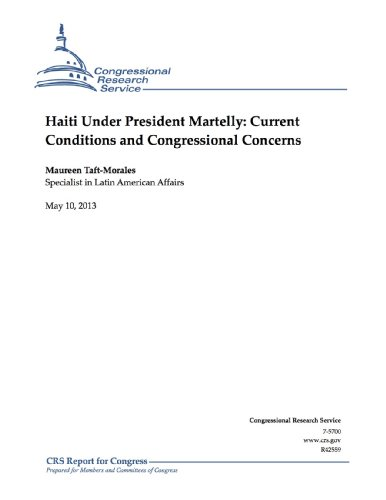 Haiti Under President Martelly: Current Conditions and Congressional Concerns (English Edition) Taft Jeans