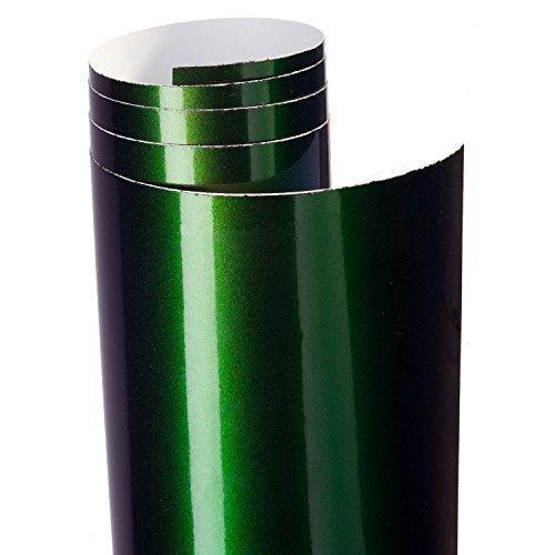 Aufkleber Folie Flip Flop silber grün metallic 100 x 62 cm partCore 3813