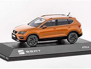 Seat 6h1099300gao Ateca Modellauto 1 43 Original Miniatur Orange Auto