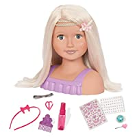 Our Generation 70.37078 Trista - Doll Bust Toy, Various