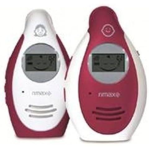 Rimax - Vigilabebes de audio rimax rb101 baby mum pantalla lcd, color blanco / rojo