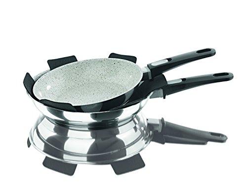 Bratmaxx Edelstahl Keramik- Hochrandpfannen Premium - 6
