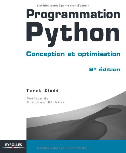 Programmation Python: Conception et optimisation