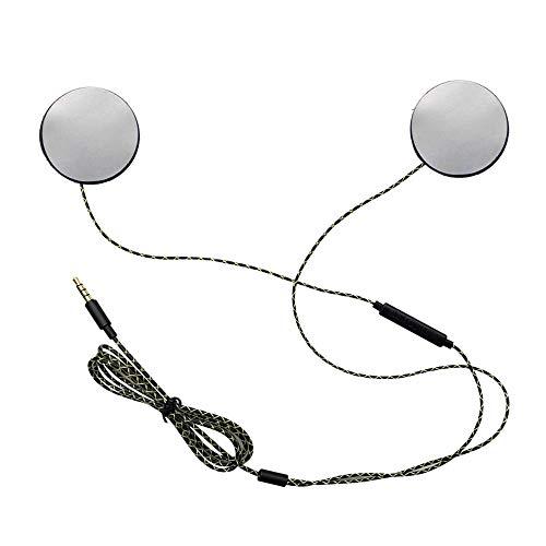 Okc Wired Kopfhörer Motorrad Intercom Helm Hochwertige 3,5 Mm Musik Headset Freisprecheinrichtung Mit HD-Mikrofon Für Motorradfahrer