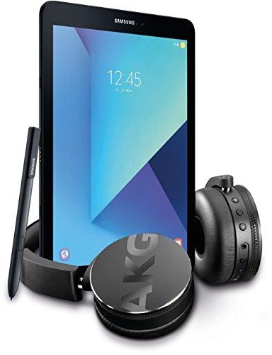 Samsung Galaxy Tab S3 T820 24,58 cm (9,68 Zoll) Touchscreen Tablet-PC (Quad-Core, 4GB RAM, 32GB eMMC, WiFi, Android 7.0) schwarz inkl. S Pen + Kopfhörer
