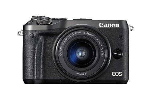 Canon EOS M6 Appareil photo hybride + EF-M 15-45 mm IS...