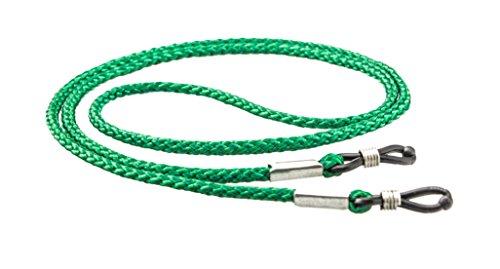Edison & King Brillenkordel - Brillenband - 70cm, 3er-Pack, grün