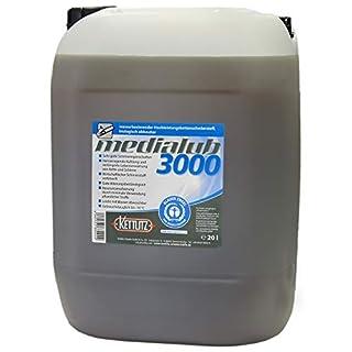 KETTLITZ-Medialub 3000 Wasserbasierendes Kettenöl 20 L bio. abbaubares Kettenhaftöl
