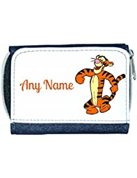 Personalised Denim Purse With Tigger Style Design By Mayzie Designs®