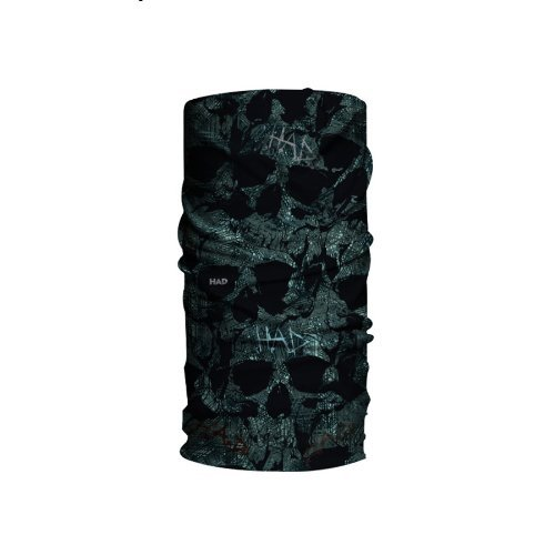 H.A.D. Originals Skull Dust Bike Scarf - Black, One Size by HAD