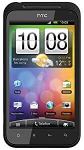 HTC Incredible S Smartphone (10.2cm (4 Zoll) Display, Touchscreen, 8 Megapixel Kamera, Android OS) muted black