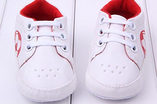 YICHUN, Jungen Babyschuhe - Lauflernschuhe  rot Longueur de Semelle:11CM rot