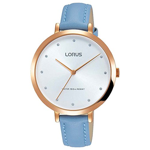 Lorus Womens Analogue Classic Quartz Watch with Leather Strap RG232MX9