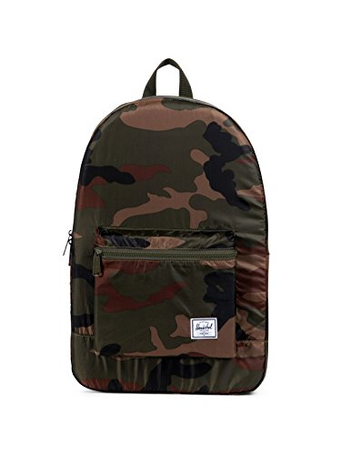 Herschel Packable Daypack Backpack in Woodland Camouflage