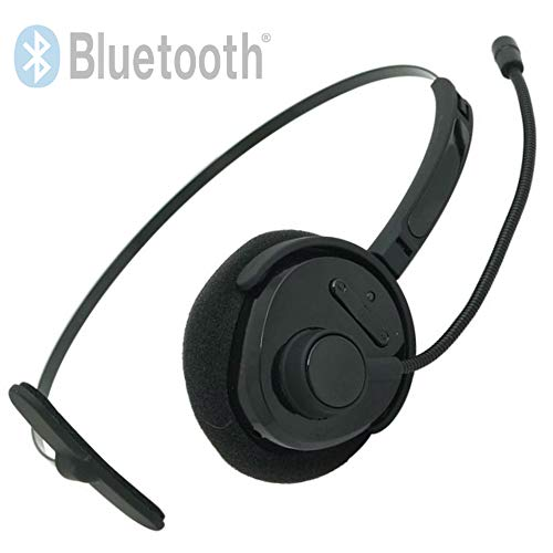 TronicXL Bluetooth V4.1 + EDR Headset Kopfhörer zb für Telefon Callcenter Smartphone Playstation 3 Huawei Samsung Pc Edr Bluetooth