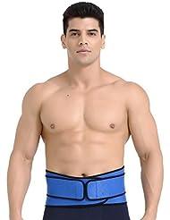 Deportes Cintura Básquetbol Breath Cinturón Cintura Levantamiento de peso Squat Fitness Volleyball Bádminton Hombres y mujeres Equipo de protección ( Color : Azul )